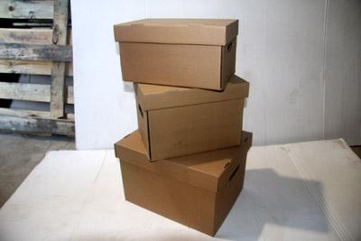 Картонные коробки самосборные