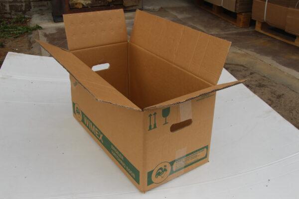 Коробка БУ 630*320*340